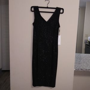Calvin Klein Black Sparkle Dress